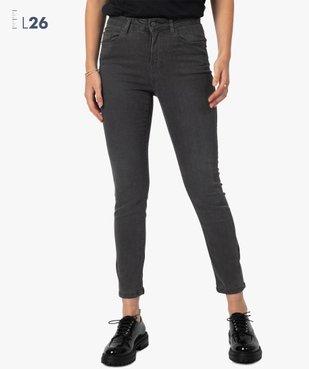 Pantalon femme coupe Slim taille haute – L26 vue1 - GEMO(FEMME PAP) - GEMO
