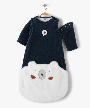 Gigoteuse bébé à manches amovibles avec motif our vue2 - GEMO(BB COUCHE) - GEMO