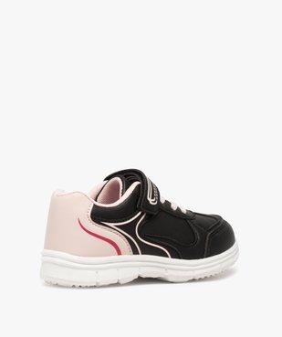Baskets fille bicolores avec fermeture scratch vue4 - Nikesneakers (ENFANT) - Nikesneakers
