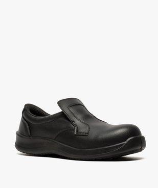 Chaussures de sécurité homme S2 forme mocassin vue2 - GEMO (SECURITE) - GEMO