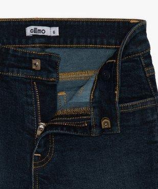 Bermuda garçon en jean coupe Regular vue4 - GEMO (ENFANT) - GEMO