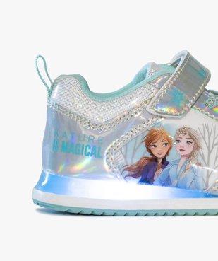 Baskets fille à semelle lumineuse – Reine des Neiges vue6 - REINE DES NEIGE - GEMO