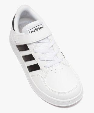 Baskets enfant à lacets et scratch – Adidas Breaknet vue5 - ADIDAS - Nikesneakers