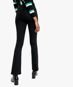 Jean femme extensible coupe Skinny flare vue3 - FOLLOW ME - GEMO
