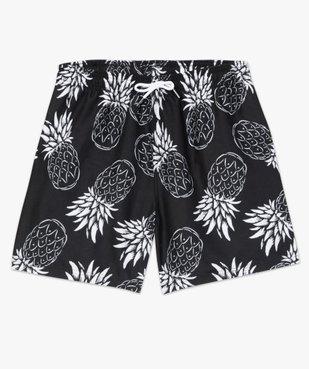 Short de bain homme motif ananas vue4 - GEMO (PLAGE) - GEMO