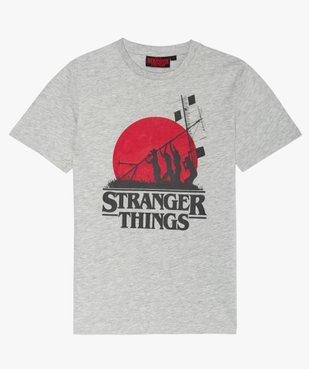 Tee-shirt garçon avec motif XXL- Stranger Things vue1 - STRANGER THINGS - GEMO