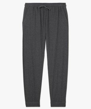 Pantalon de pyjama homme en jersey à taille élastique vue4 - GEMO(HOMWR HOM) - GEMO
