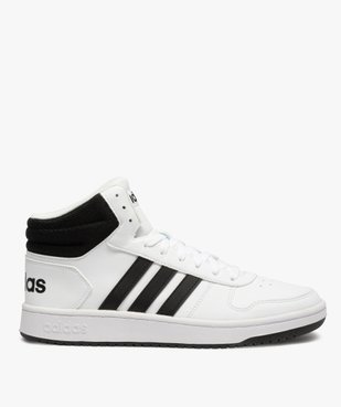 Baskets homme semi-montantes à lacets – Adidas Hoops Mid vue1 - ADIDAS - GEMO