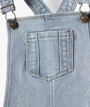 Robe fille en jean coupe salopette vue2 - Nikesneakers (ENFANT) - Nikesneakers