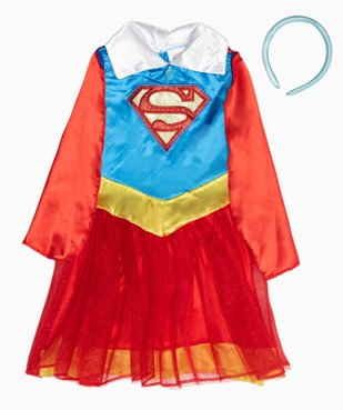 Déguisement fille Superman vue2 - DC COMICS - GEMO