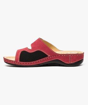 Sandale à brides avec points de réflexologie - 5 zones vue3 - 5 REFLEX ZONES - GEMO