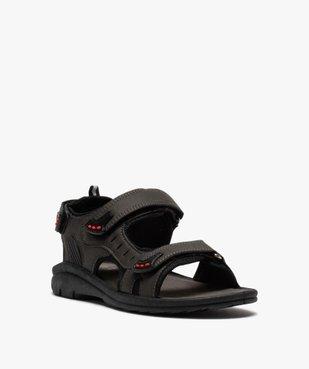 Sandales sport garçon à brides scratch vue2 - SANS MARQUE - GEMO