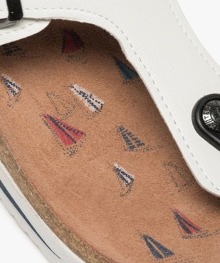 Sandales femme à entre-doigts et bride en T – Terre de Marins vue6 - TERRE DE MARINS - GEMO