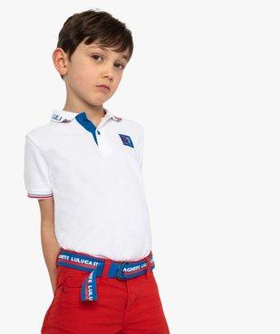 Polo garçon à manches courtes – Lulu Castagnette vue1 - LULUCASTAGNETTE - Nikesneakers