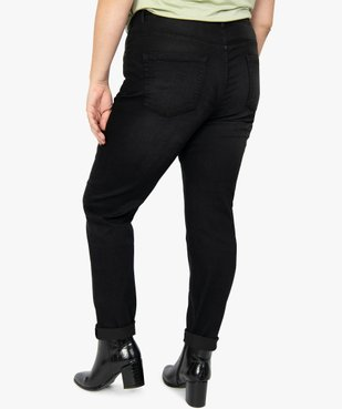 Jean femme slim 5 poches taille normale vue3 - GEMO (G TAILLE) - GEMO