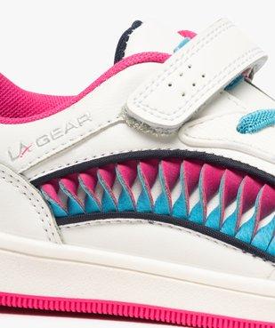 Baskets fille avec bandes colorées – LA Gear vue6 - L.A. GEAR - GEMO