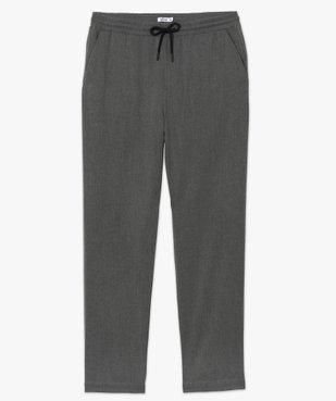 Pantalon homme en maille milano à taille élastiquée vue4 - Nikesneakers (HOMME) - Nikesneakers