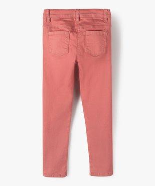 Pantalon fille coupe slim - Ultra résistant vue3 - GEMO C4G FILLE - GEMO