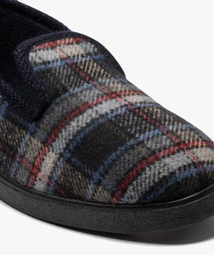 Chaussons pour homme style charentaises à carreaux vue6 - Nikesneakers C4G HOMME - Nikesneakers