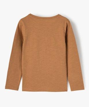 Tee-shirt fille à manches longues motif XXL vue4 - GEMO (ENFANT) - GEMO