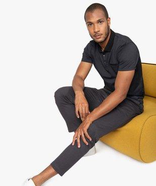 Pantalon homme en maille milano à taille élastiquée vue5 - Nikesneakers (HOMME) - Nikesneakers