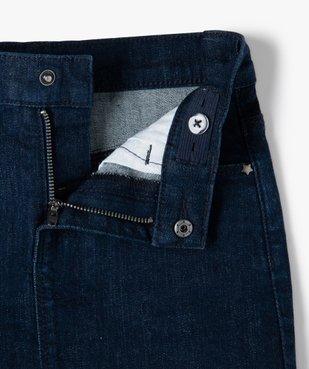 Jupe en jean fille légèrement extensible vue2 - GEMO (ENFANT) - GEMO
