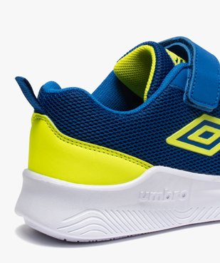 Chaussures de running garçon à lacets et scratch - Umbro vue6 - UMBRO - GEMO