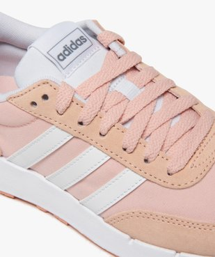Baskets femme bicolores à lacets – Adidas Run 60s vue6 - ADIDAS - Nikesneakers