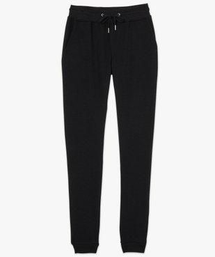Pantalon de jogging femme en jersey molletonné vue4 - GEMO(FEMME PAP) - GEMO