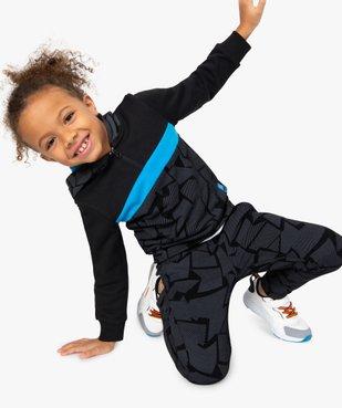 Sweat garçon à capuche multicolore vue1 - GEMO (ENFANT) - GEMO