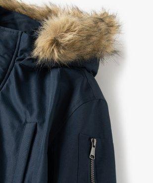 Blouson garçon matelassé avec doublure sherpa et capuche fantaisie vue2 - Nikesneakers (ENFANT) - Nikesneakers