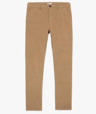 Pantalon chino homme en coton stretch vue4 - Nikesneakers (HOMME) - Nikesneakers