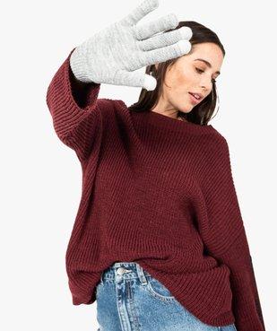 Gants femme pour écrans tactiles (lot de 2 paires) vue2 - GEMO (ACCESS) - GEMO