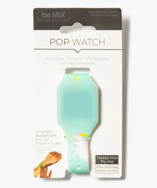 Montre enfant Touch ultra_plate Pop Watch vue1 - GEMO (ENFANT) - GEMO