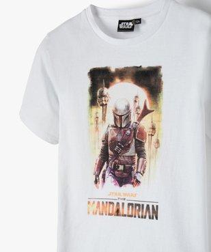 Tee-shirt garçon avec motif XXL – Star Wars vue2 - THE MANDALORIAN - GEMO