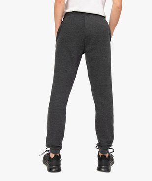 Pantalon de jogging femme en jersey molletonné vue3 - GEMO(FEMME PAP) - GEMO