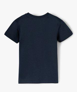 Tee-shirt garçon motif fantaisie football vue3 - SANS MARQUE - GEMO