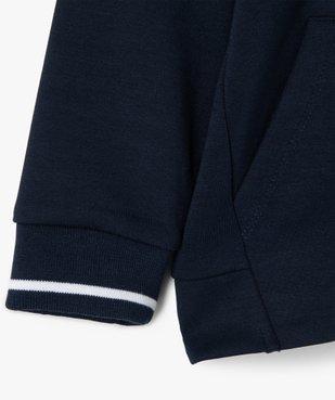Sweat garçon zippé à capuche – Lulu Castagnette vue3 - LULUCASTAGNETTE - GEMO