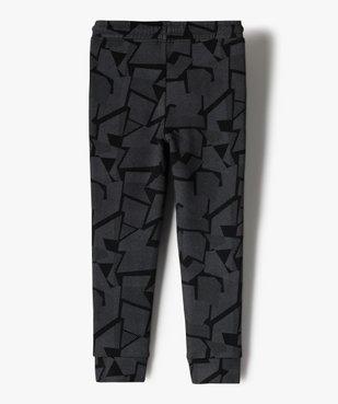 Pantalon de jogging garçon à motifs graphiques vue3 - GEMO (ENFANT) - GEMO