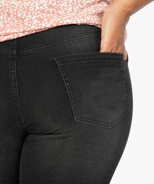 Jean femme slim 4 poches extensible vue2 - GEMO (G TAILLE) - GEMO
