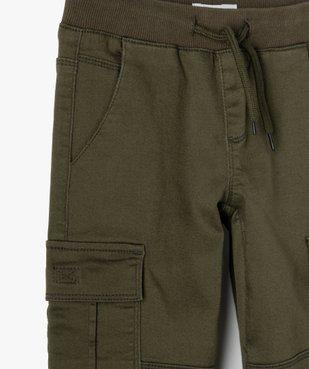 Pantalon garçon multipoches en matière résistante vue2 - Nikesneakers C4G GARCON - Nikesneakers