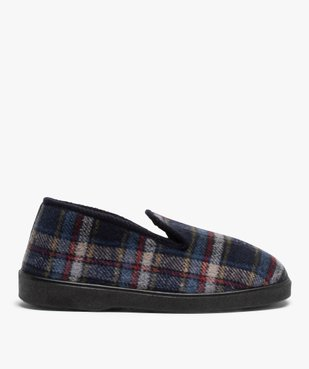 Chaussons pour homme style charentaises à carreaux vue1 - Nikesneakers C4G HOMME - Nikesneakers