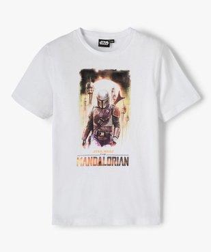 Tee-shirt garçon avec motif XXL – Star Wars vue1 - THE MANDALORIAN - GEMO