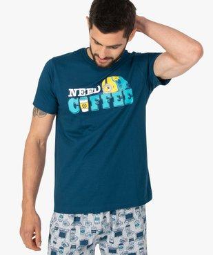 Pyjashort homme avec message – Les Minions 2 vue2 - NBCUNIVERSAL - GEMO