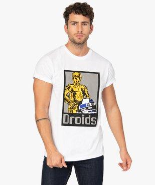 Tee-shirt homme avec motif réfléchissant – Star Wars vue1 - STAR WARS - GEMO