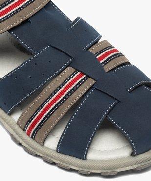 Sandales garçon à brides multiples et fermeture scratch vue6 - Nikesneakers (ENFANT) - Nikesneakers