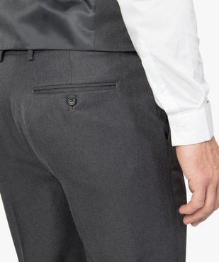 Pantalon de costume homme coupe ajustée vue2 - GEMO (HOMME) - GEMO