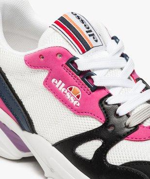 Baskets femme en mesh façon dad shoes - Ellesse vue6 - ELLESSE - GEMO
