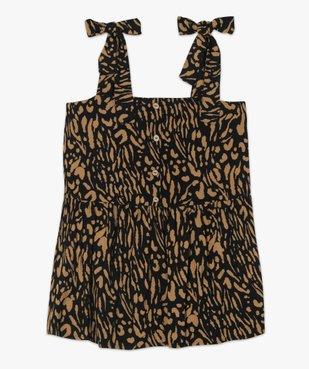 Chemise femme à bretelles motif animalier vue4 - GEMO (G TAILLE) - GEMO