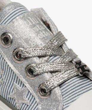 Tennis fille zippées détails métallisés– Lulu Castagnette  vue6 - LULU CASTAGNETT - Nikesneakers